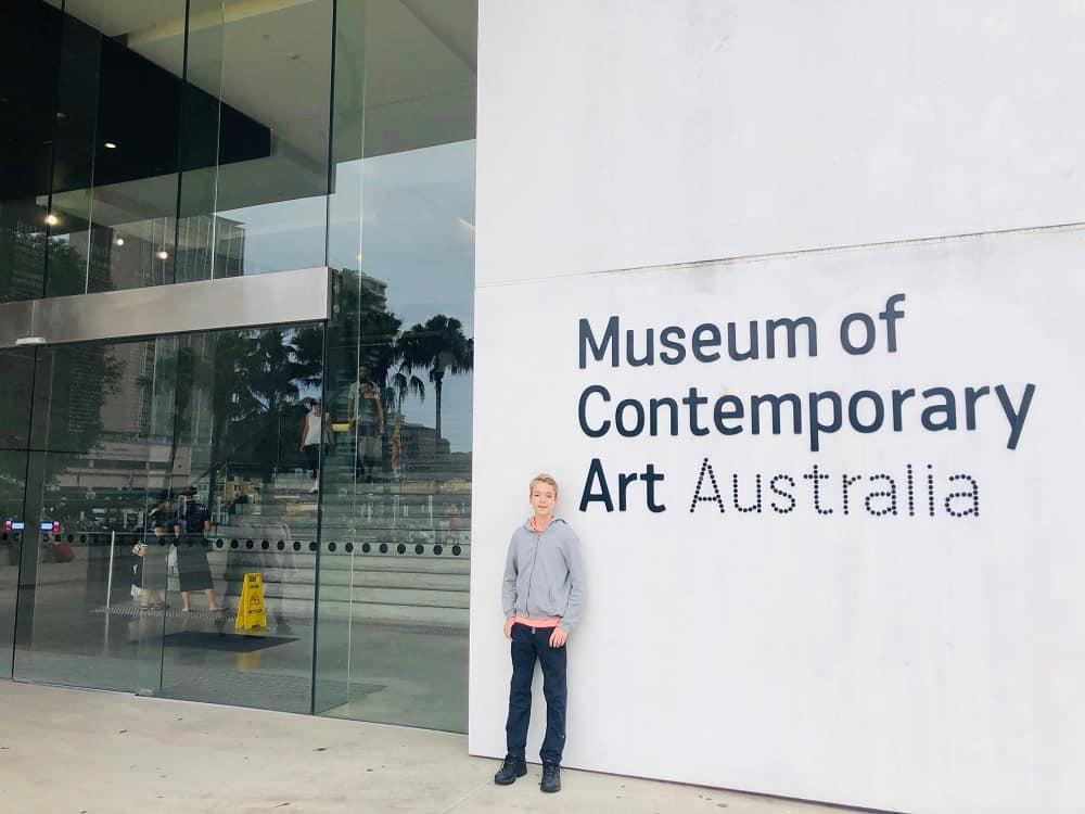 Museum of Contemporary Art Sydney school holidays