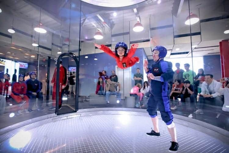 Ifly is great for teenagers