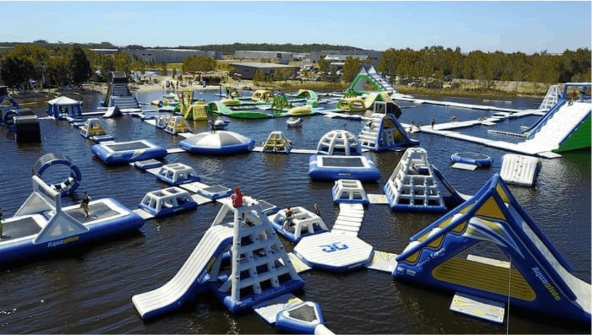 Coolum Aqua Park - best school holiday activities Sunshine Coast