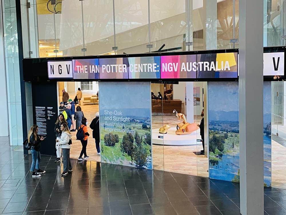 NVG Ian Potter Centre Melbourne