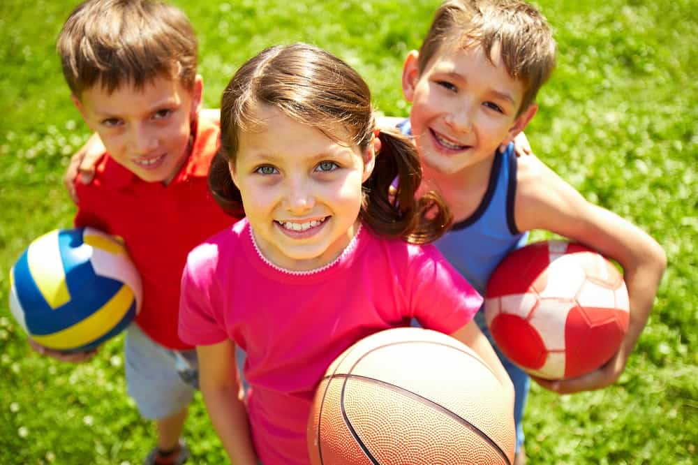 School holiday camps – sports & exercise